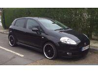 Fiat Grande Punto 1.4i Automatic 5 Door 43k Miles HID lights FSH HPI clear long MOT Alloys Bargain