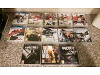 ps3 games bundle excellent condition