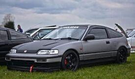 Honda Crx late spec 16v, D16a9, made in 1990, ED9 model.