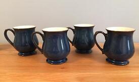 Denby Boston Craftsman Mugs x 4