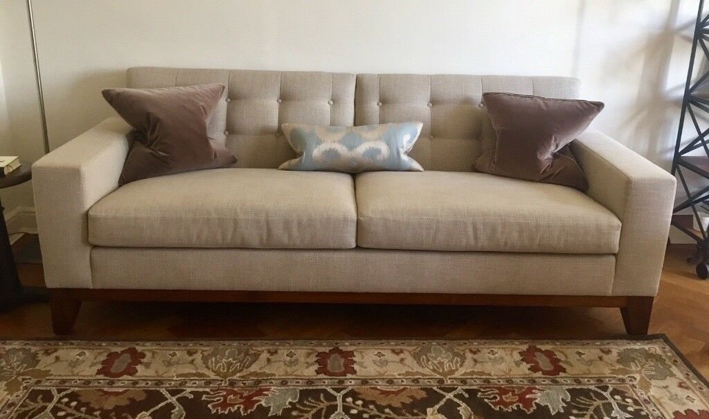 Bespoke Kingcome Sofa   PRICE REDUCED Neutral Color, Hardly Used