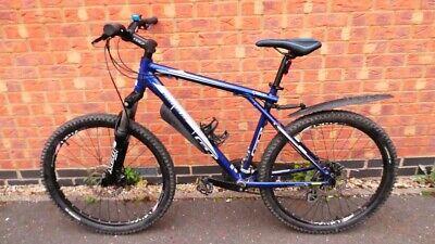 "26"" GT Aggressor XC 3 Mountain Bike, 24 Speed, Medium, Disc Brakes, Blue"