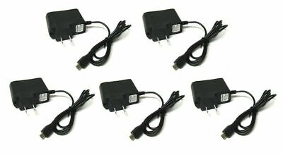 5x Micro USB Home Wall AC Charger for Blackberry HTC LG Samsung Cell PHone Cell Phone Accessories