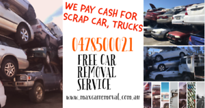 Wanted: CASH FOR You Unwanted Vehicles - Max Car Removal