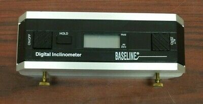 Baseline Inclinometer Digital Protractor Free Priority Shipping