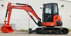 Kubota U55-4 5.5 Ton Excavator Kewdale Belmont Area Preview