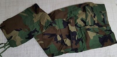 Trousers Woodland Camo Combat Small Long 8415-01-084-1710  NEW WOT C
