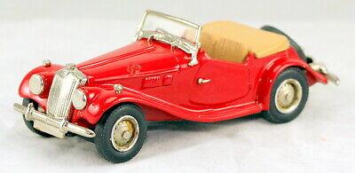 Rare 1/43 scale Western Models WMS 12 1953 MG TF Midget roadster red MIB