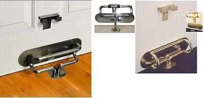 The Door Club Home Security Lock, Strong Anti Burglar Device, Resist 2 Ton Force