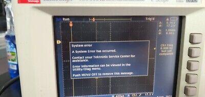 Tektronix Tds 3054b 500mhz E Scope 5gss Four Channel Color Digital Phosphor