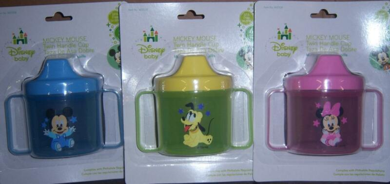 DISNEY MICKEY MOUSE, MINNEY MOUSE, OR PLUTO SIPPY CUP, BABY SHOWER