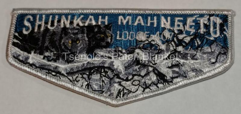 Shunkah Mahnteetu Lodge 407 2004 NOAC Trader Flap Mint Condition FREE SHIPPING
