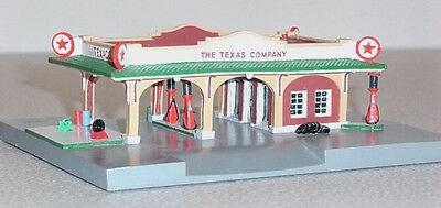 TEXACO #2 Service Gas Station 30s Deco Design Lefton Roadside 1995 HO Scale MIB