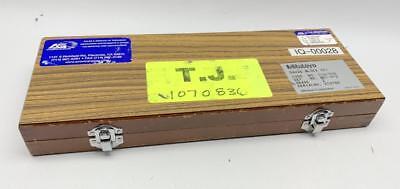 Mitutoyo 9pc Gauge Block Set 516-930 Grade 2 . 0625 To 2