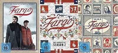 Fargo Staffel 1-3 (1+2+3, 1 bis 3) DVD - Original Serie