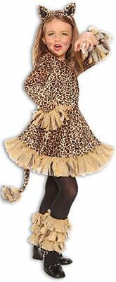 Palamon Leopard Dschungel Tiere Kleid Süß Kinder Halloween Kostüm (Dschungel Tier Kostüm Kinder)