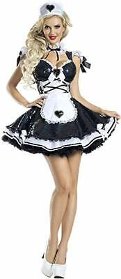 Party King Wunderbares Maid Französisch Sexy Adult Damen - Maid Halloween Kostüme