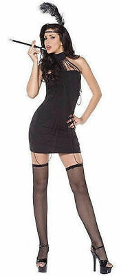 Smiffys 32753 Fever Flirty Flapper Cabaret 20's Costume - 20 S Cabaret Kostüm