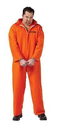 Plus Size Jail Halloween Costumes (Men's Plus Size Jail Inmate Halloween Costume Got Busted Orange Jumpsuit)