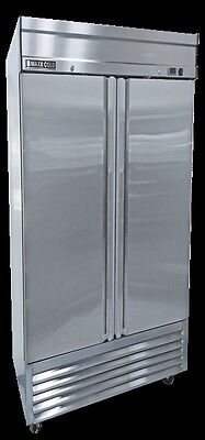New Maxx Cold Mxsf-49fd Two 2 Door Upright Reach-in Freezer - Free Shipping