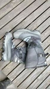 Winter Steel Toed Work Boots, Size 12