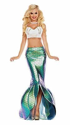 Party King unter dem Meer Meerjungfrau Sexy Erwachsene Damen Halloween - Unter Dem Meer Party Kostüm