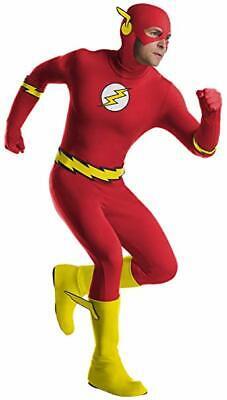Charades Dc Comics Flash Superheld Overall Adult Herren Halloween Kostüm - Adult Flash Kostüm