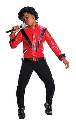 Charades Michael Jackson Thriller Rot Jacke Kinder Halloween - Michael Jackson Kostüm Jacke