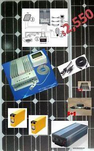 Complete Off Grid Package, Plug & Go 460 Watt 3K Inverter