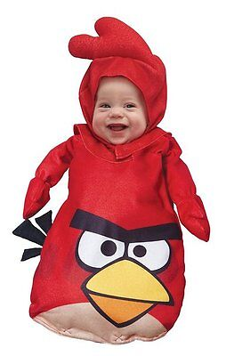 Angry Birds Red Bird Infant Baby Costume 12-18