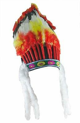 ve American Indian Chief Headdress Halloween Accessory 57572 (Forum Novelties Halloween)