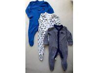BIG bundle of baby boy clothes 0-3m