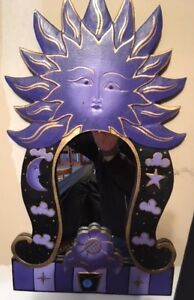 Fun Purple Mirror