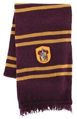 Gryffindor Striped Wool Scarf Harry Potter Hermione Halloween Costume - Harry Potter Halloween Scarf