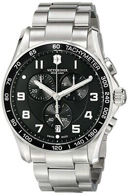 Victorinox Swiss Army Classic Chrono Dark Blue/Black 241497 New Other With Tags Other Sport Watch