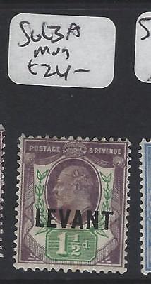 BRITISH LEVANT  (P2405B)   KE  SG L3A    MOG