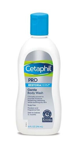 CetCetaphil PRO Dry Skin Soothing Wash 10-ounce Body Wash
