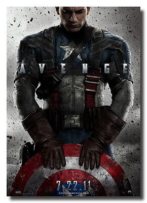 Captain America The First Avenger New Ads Photo Poster on Rummage