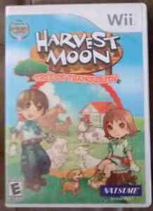 Harvest moon tree of tranquillity WII