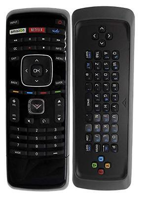 New XRT300 Replaced Qwerty Keyboard Remote with Vudu for VIZIO LCD LED Smart TV