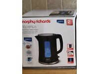 Black Morphy Richards Accents Kettle
