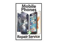 iPhone/Samsung Screen Repairs, Battery Replacement, Water Damage, Unlocking.