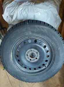 4 Tires with rims - Toyo Observe GSi-5 265/60 R18 110S West Island Greater Montréal image 1