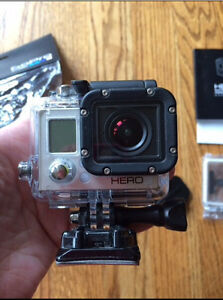 GoPro Hero3 White Edition-Brand New Condition, missing USB cord
