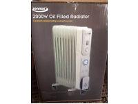 Zennox 2KW Oil Filled Radiator ... Brand new