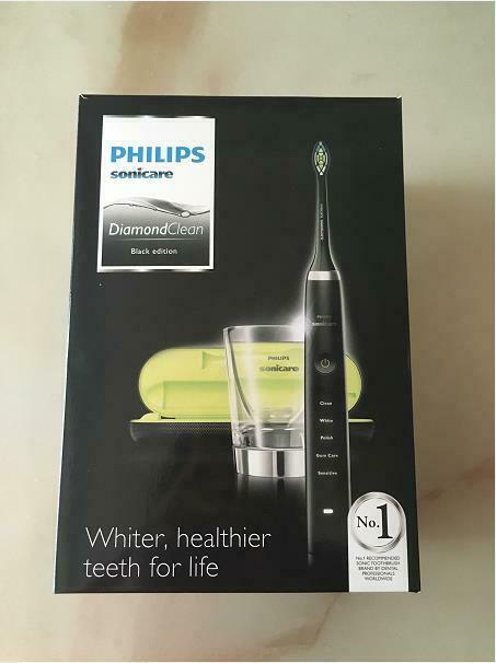 diamondclean electric toothbrush pink black model
