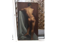 Male Nude oil painting (original)