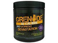 Grenade 50 Calibre Pre Workout, Berry Blast - 232 g
