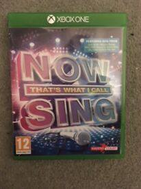Now That's What I Call Sing Xbox One (microphone included)