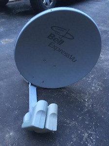 bell tv dish dual